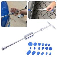 Auto Car Body Paintless Dent Durable Removal Puller Repair Tool Accessory with 18 Spacer car scratch remover