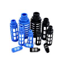 Solenoid valve muffler plastic plug exhaust PSL-01 inch 02/03/04 filter element muffler pneumatic connector