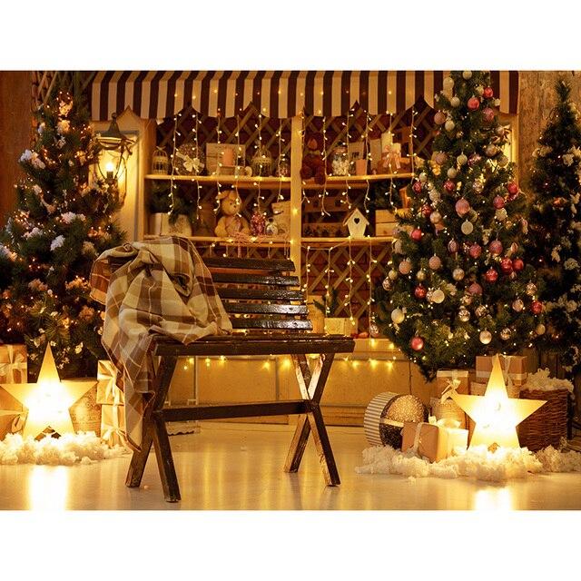 Фото фон для студийной фотосъемки shengyongbao с изображением рождественской цена