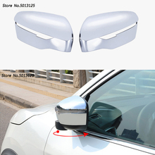 Car rear view Rearview Side glass Mirror Cover trim frame For Nissan Qashqai  J11 2017 2018 Side Mirror Caps Cover Accessories цена и фото