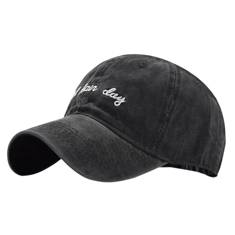 Carry On Unisex Pure Color Baseball Cap Classic Adjustable Sun Hat