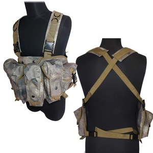 Image 5 - CQC AK الصدر تلاعب مول التكتيكية سترة معدات الجيش العسكرية AK 47 مجلة الحقيبة في الهواء الطلق Airsoft الألوان سترة صيد