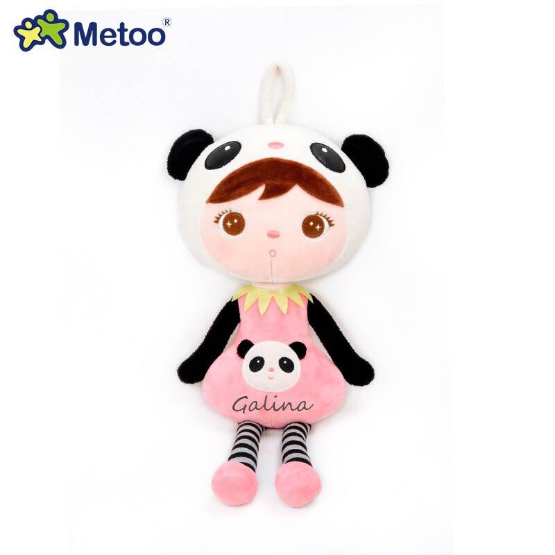 2020 original novo metoo boneca dos desenhos animados animais de pelúcia macio brinquedos para aniversário natal presentes das crianças nome personalizado