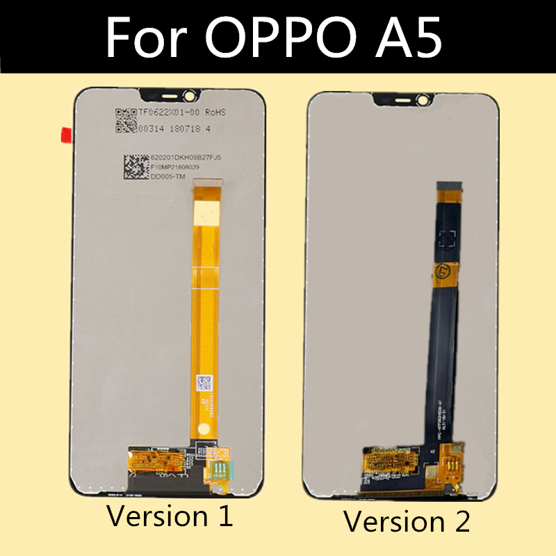 For <font><b>OPPO</b></font> <font><b>A5</b></font> <font><b>LCD</b></font> Display Panel Touch Screen Digitizer Assembly For <font><b>OPPO</b></font> <font><b>A5</b></font> <font><b>LCD</b></font> Display image