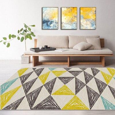Tapis Shaggy doux pour salon maison tapis de sol en peluche chaud tapis de haute qualité en fausse fourrure tapis de salon
