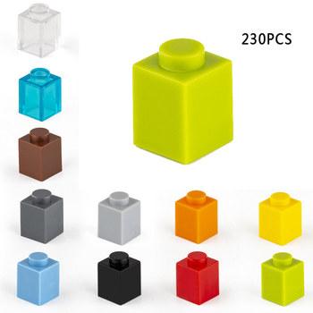 230 sztuk klocki 1 #215 1 kropki grube figurki cegły edukacyjne kreatywny rozmiar Fit inne marki plastikowe zabawki DIY Accessorie3005 tanie i dobre opinie TUTU LALA CN (pochodzenie) 8 ~ 13 Lat Dorośli Z tworzywa sztucznego