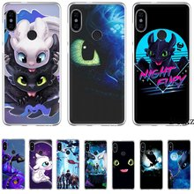 Mobiele Telefoon Case Voor Xiaomi Redmi Opmerking 4 4X 3 5 6 7 Pro 5A K30 Poco X2 Hard Cover leuke Cartoon Hoe Train Your Dragon(China)