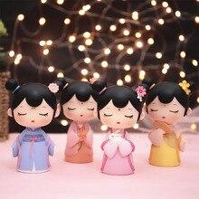 Коллекционная Фигурка модель игрушки статуи детские игрушки принцесса фея ПВХ фигурка Коллекционная модель кукла подарок