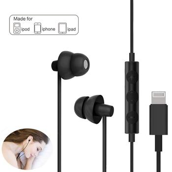 Headphones Earbuds with Lightning Connector Earphone for iPhone X/XS/XS Max/XR iPhone 8 iPhone 7/7 Plus Apple iOS fone de ouvido