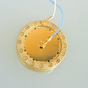 Image 2 - Copperize シルバーゴールドラージダイアフラムコンデンサーマイクマイク 34 ミリメートルカプセルカートリッジコアマイクカプセルためノイマン diy 交換