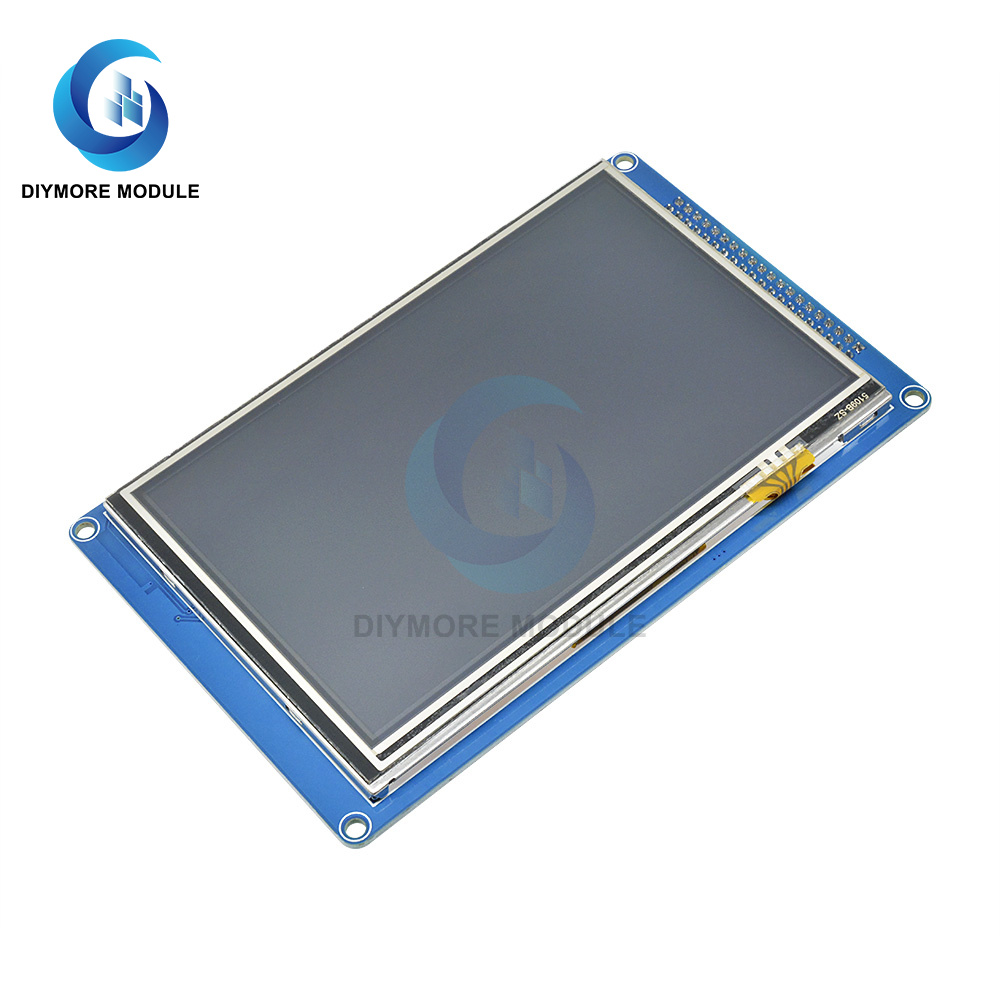 5.0 Inch TFT Touch Screen LCD Display Module 800*480 Full Color SSD1963 Controller SD Card Socket For Arduino 51/AVR/STM32