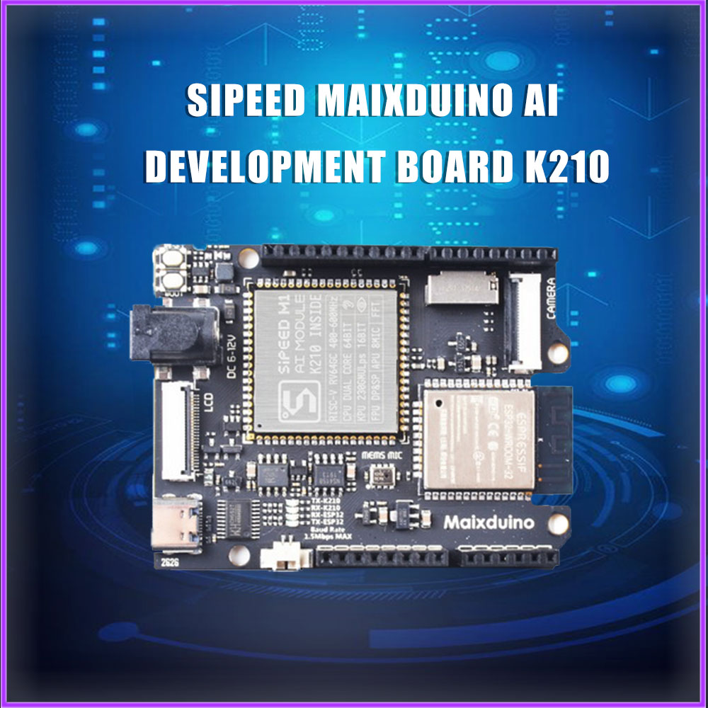 Sipeed Maixduino AI Development Board K210 RISC-V AI+lOT ESP32 Compatible With Arduino