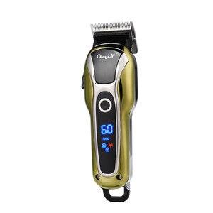 Image 3 - มัลติฟังก์ชั่LCD Hair Clipper Trimmerเคราไฟฟ้าเคราClipperตัดผมTrimerเครื่องตัดQuick Charge