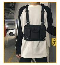 Hip Hop Chest Bag Rap Street Decorating Bag Outdoor Activity Tatical Bag Motor Riding Convenient Bag hip bag