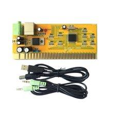 Монетоуправляемая аркадная игра машина двойной рокер аксессуар панель управления модуль для ПК/PS3 MR-P022