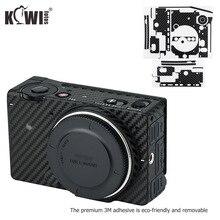 Anti Scratch กล้อง Body Skin Protector ฟิล์มสำหรับ Sigma FP Mirrorless กล้อง Full Frame 3M สติกเกอร์/รูปแบบคาร์บอนไฟเบอร์