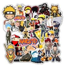 50Pcs/lot japan anime Naruto sasuke Cartoon For Snowboard Laptop Luggage Fridge Car  Styling Vinyl Decal Stickers
