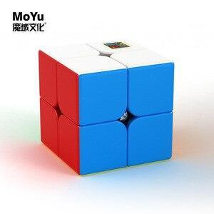 Moyu Meilong 2x2x2 3x3x3 4x4x4 5x5x5 magic cube speed cube 2x2 3x3 puzzle cubo 4x4 5x5 cubo magico