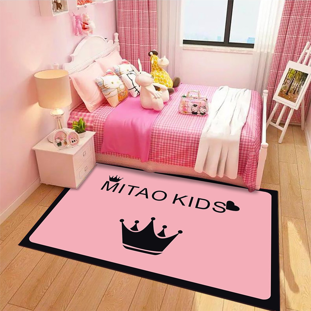 Home Cartoon Children Room Carpets For Living Room Bedroom Area Rugs Cute Kids Tent Climbing Carpet Child Play Game Floor Mats