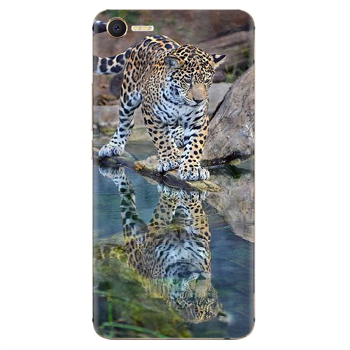 For Xiaomi Redmi 4A 7A S2 Note 8 3 3S 4 4X 5 Plus 6 7 6A Pro Pocophone F1 Buy Silicone Phone Case Baby Cheetah Full Speed Sunset(China)