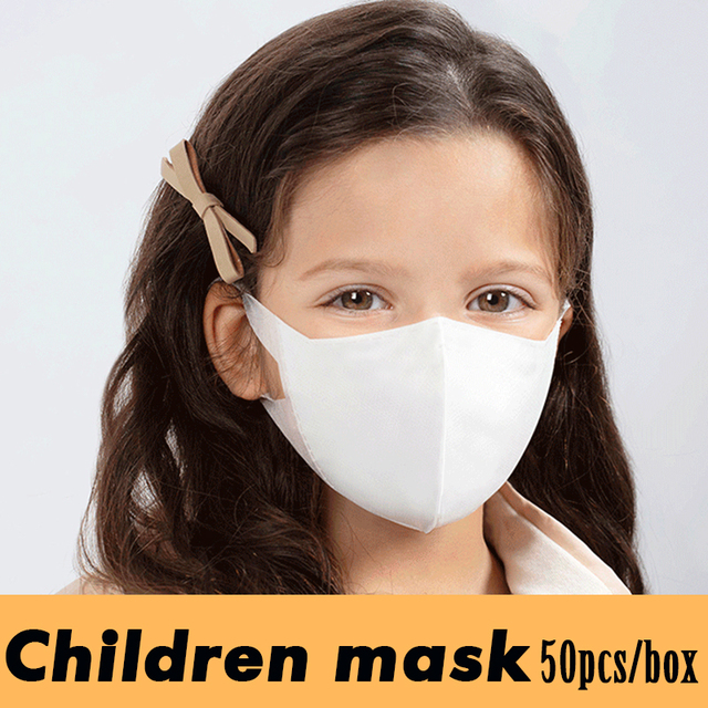 Disposable Children/Adult Mouth Mask Anti Dust Pollution Face Mask Non Woven 3 Layers Anti Bacteria Flu Fabric Cloth Health care