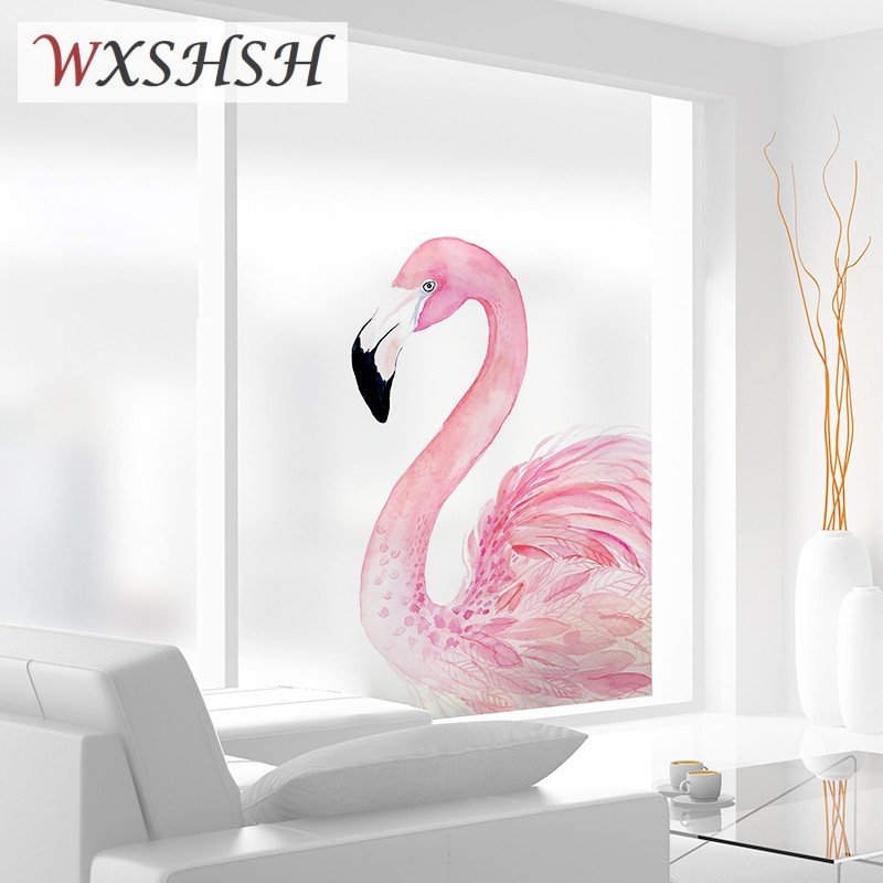 Glass-Film Window-Sticker Decorative Frosted Stained Privacy-Protection Static Cling