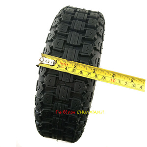 Image 3 - 번개 선적 전기 스쿠터 90/65 6.5 크로스 컨트리 타이어에 대 한 슈퍼 품질 11 인치 공 압 타이어