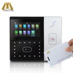 """Автономный 4,3 """"TFT Сенсорный экран RFID Card Reader TCP/IP Камера ZK Iface701 лицо доступа Управление и рабочего времени машины"""
