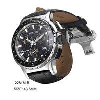 남성 스포츠 다이브 시계 스위스 크로노 그래프 무브먼트 탑 럭셔리 브랜드 다이빙 Relogio Saat Montre Horloge Masculino Erkek Hombre 2281