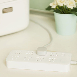 Image 4 - Xiaomi Mijia no usb Power Strip 3 6 8 Ports Plug Socket Power on/off 2500W 10A 250v overload protection for office home mihome