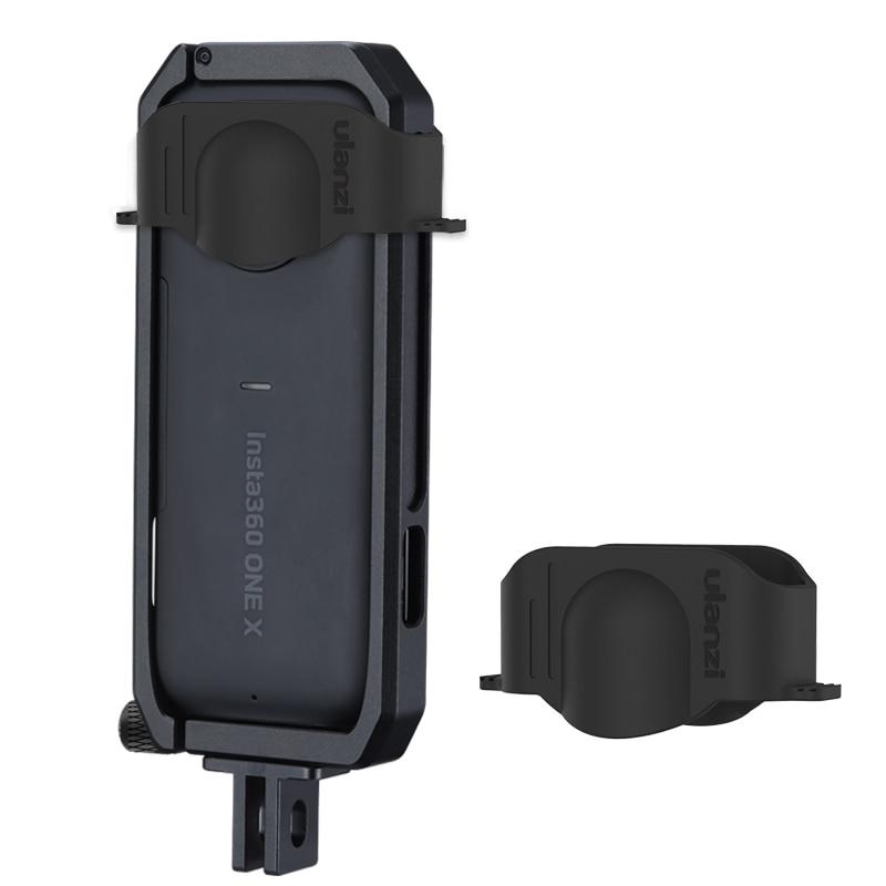 Металлическая защитная рамка Ulanzi Insta 360 One X, комплект крышек для объектива камеры Insta 360 One X, аксессуары