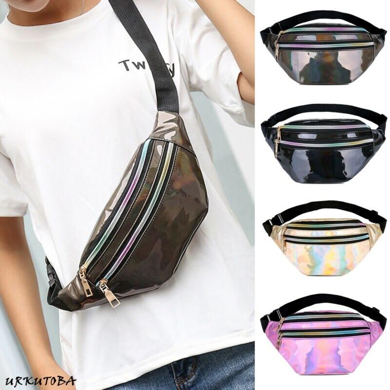 Women Girls Waist Fanny Pack Belt Bag Chest Pouch Hip Bum Bag Small Purse