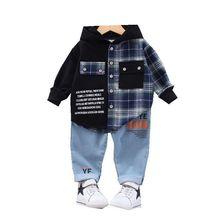 Children Casual Sportswear Hoodies Toddler Fashion Kids Pants Costume Infant Baby-Boys-Girls