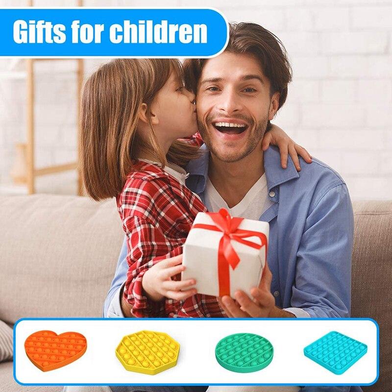 Popit Fidget TOYS Unicorn Mouse Autism Bubble Stress Reliever Squeeze-Sensory Squishy img5