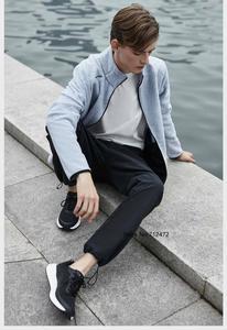 Image 2 - Youpinฤดูใบไม้ร่วงฤดูหนาวชายเปลือกคอมโพสิตขนแกะกางเกงกันน้ำWindproofอบอุ่นกีฬากางเกงเดินป่ากางเกง
