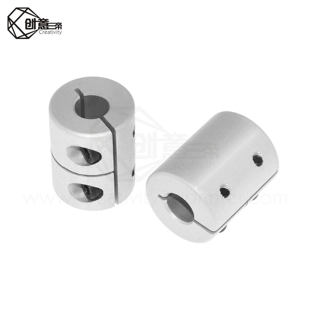 5mm x 5mm Small Rigid Shaft Coupler Stepper Servo Motor CNC Coupling Nema 17 3D