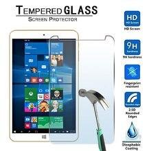 Protector de pantalla de vidrio templado 9H para ONDA V80 Plus-Premium Tablet