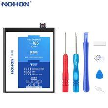 Nohon батарея для oneplus 5 5t 6 Высокое качество bateria one