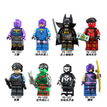 PG8121 Single Sale Building Blocks Super Heroes Infinity War Deadpool Thanos Hulk Batman Dick Grayson Punisher Toys For Children недорого