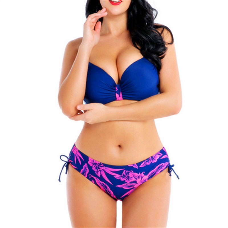 8XL 7XL 6XL Plus Size Bikini Set Free Shipping Two Piece Swimwear For Woman Large Sizes Bikinis 2020 Beach Bathing Suit 5XL 4XL
