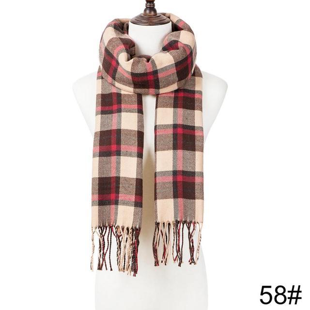 Fashion Winter Tassel Scarf Shawl 3