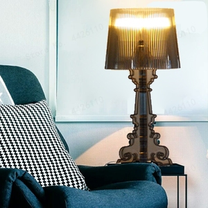 Image 5 - โมเดิร์นGhost SHADOWอะคริลิคใสตารางโคมไฟแสงห้องนอนห้องนอนห้องนอนอะคริลิคโคมไฟตั้งโต๊ะSimple LIGHT