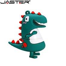 JASTER USB 2.0 gros petit dinosaure dessin animé U disque 4GB 8GB 16GB 32GB 64GB USB 2.0 haute vitesse lecteur flash