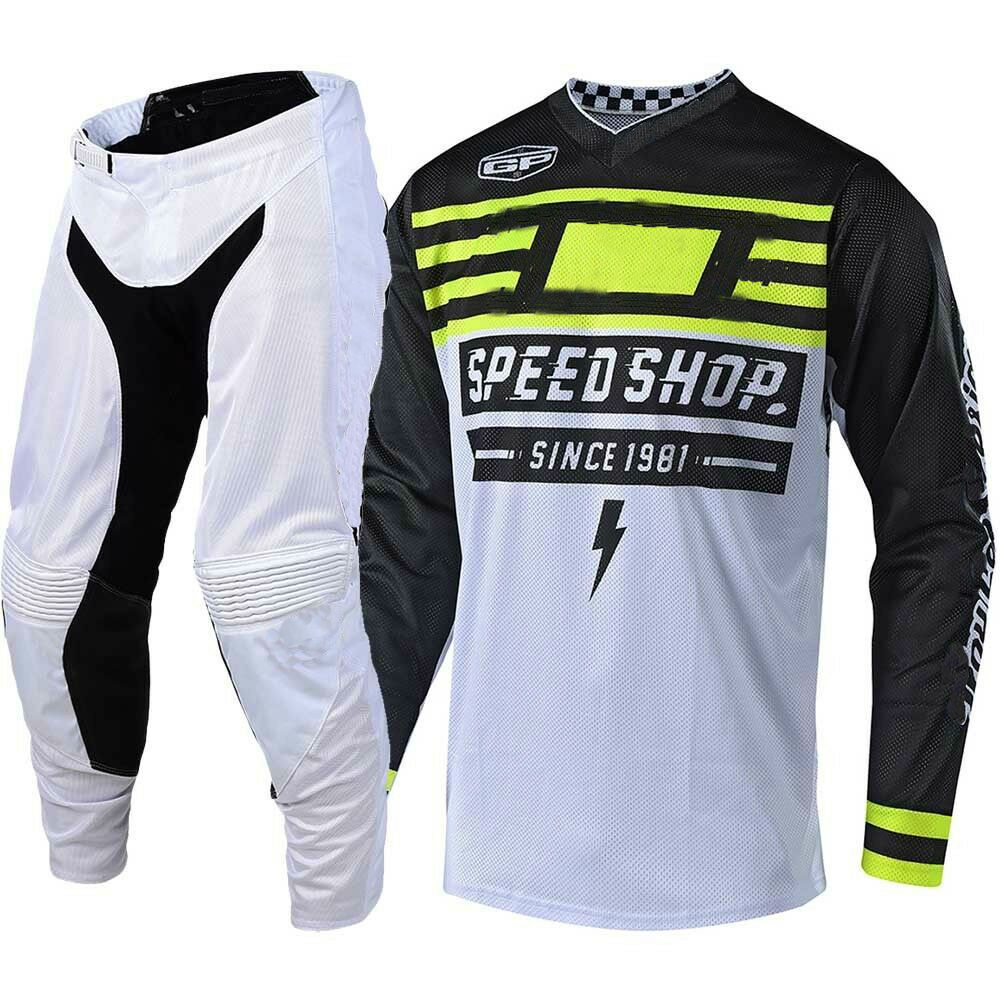 2019 GP AIR MONO Motorcycle MX Suit Black Moto Jersey And Pants Hot BMX Dirt Bike Motocross Gear Set