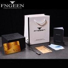 FNGEEN Original Wristwatch Gift Box Kit 1 Set Men Women Luxu