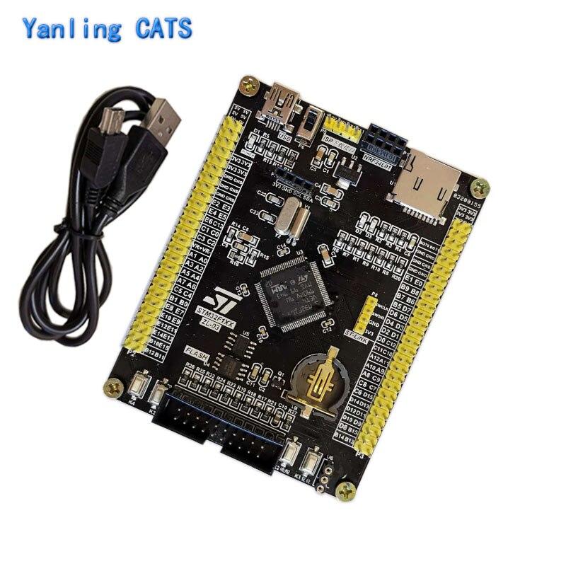 STM32 development board ARM Cortex M3 dicovery STM32F103VE VCT6 LQFP100 Pin MCU controller system core board 1PCS ZL 03|Demo Board|   - AliExpress