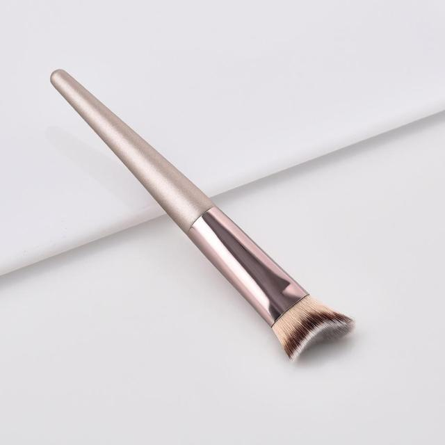 Luxury Champagne Makeup Brushes Set For Foundation Powder Blush Eyeshadow Concealer Make Up Brush Cosmetics Beauty Tools 5