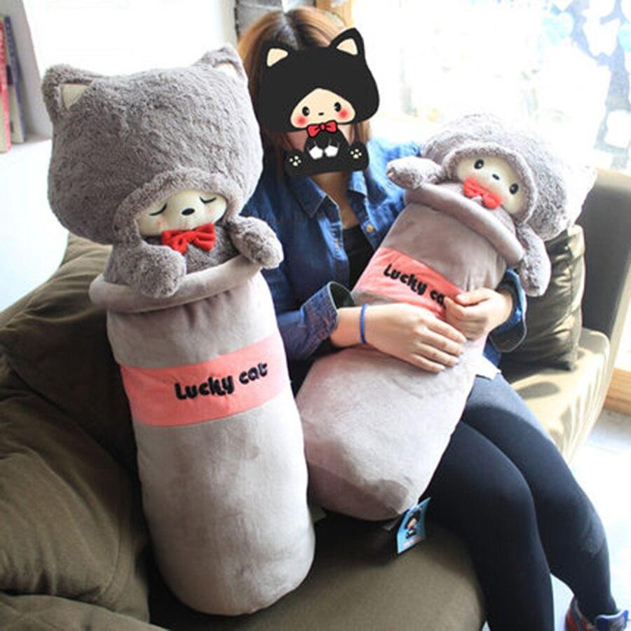 Peluche animaux en peluche peluches enfants poupées filles cadeaux d'anniversaire en peluche animaux de noël chats doux CC50MR - 5