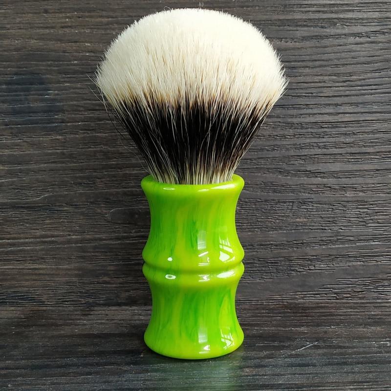 Dscosmetic 26mm Bamboo Resin Handle Dense Geltip 2band Badger Hair Knots Shaving Brush