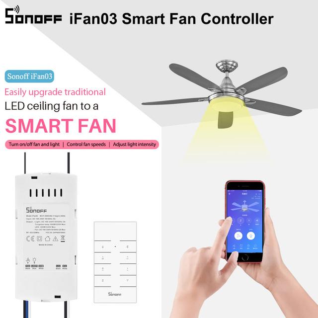 SONOFF iFan03 Smart Fan Switch